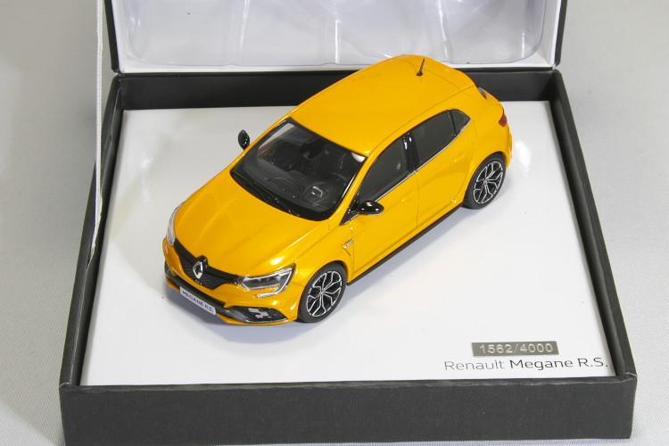 ノレブ 1/43 ルノー メガーヌ R.S. 2017 オレンジ Renault Megane RS