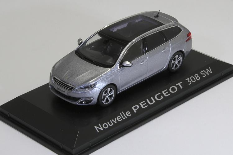 NOREV 473817 Peugeot 308 SW GT 2017 Ultimate Red 1//43