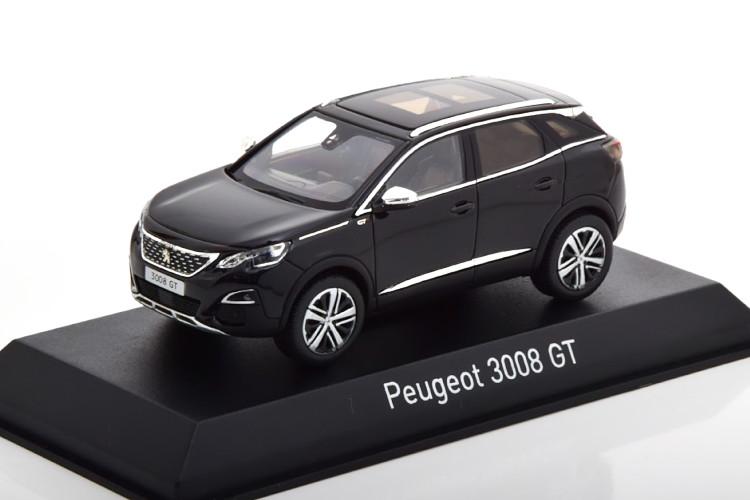 ノレブ 1 43 プジョー 3008 GT ブラック black 超目玉 Peugeot 送料無料新品 SUV 2016