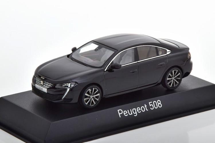 【第1位獲得!】 ノレブ 1 ブラック/43 プジョー Peugeot 508 サルーン 2018 ブラック Saloon Peugeot Saloon black, 花と雑貨リトルガーデン:802ee918 --- blacktieclassic.com.au