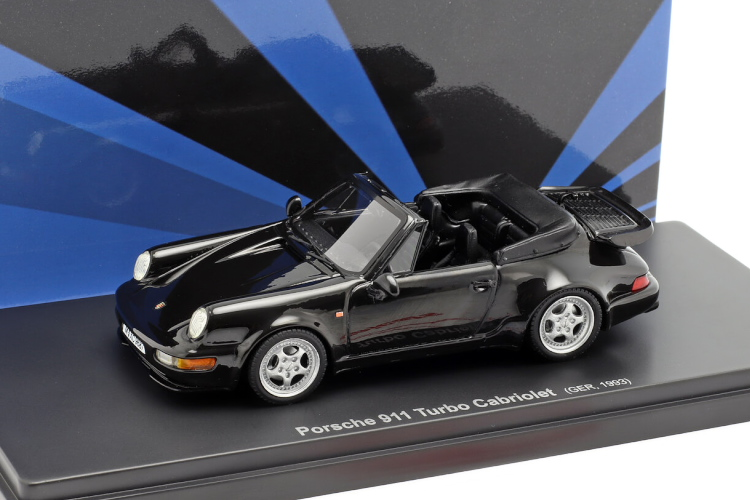 AVENUE43 1/43 ポルシェ 911 964 ターボ カブリオレ GERMANY 1993 ブラックメタリック 333台限定 PORSCHE TURBO CABRIOLET BLACK MET LIMITED 333 ITEMS