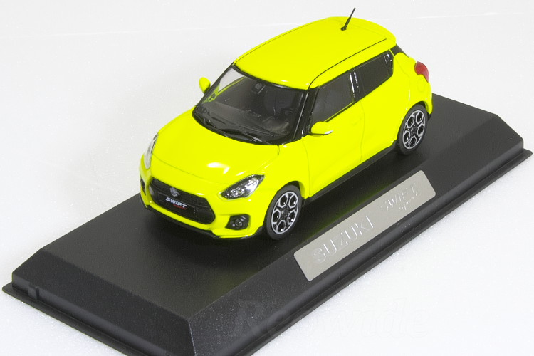 スズキ特注 1/43 スズキ スイフト スポーツ イエロー 2017 ZC33SSUZUKI genuine 1/43 SWIFT SPORT Yellow ダイキャスト