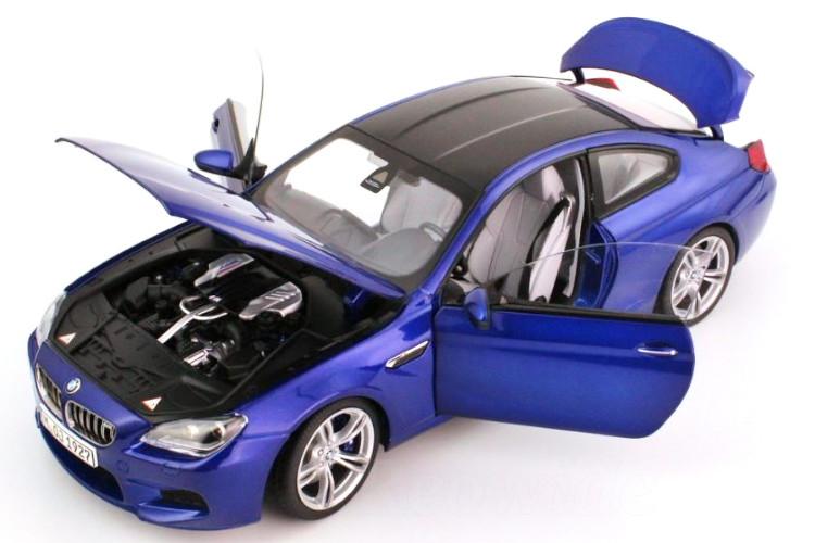 Paragon 1/18 BMW M6 クーペ ブルー F13 2012 San marino Blue