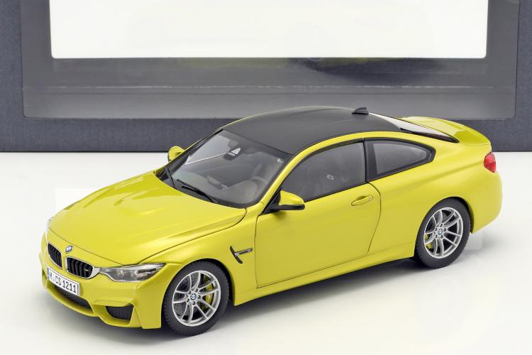 Paragon 1/18 BMW M4 Coupe (F82) austin yellow