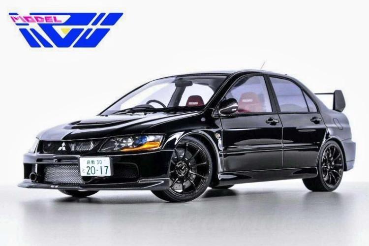 AGU MODEL 1/18 三菱 ランサーエボリューション lX 9 ブラック