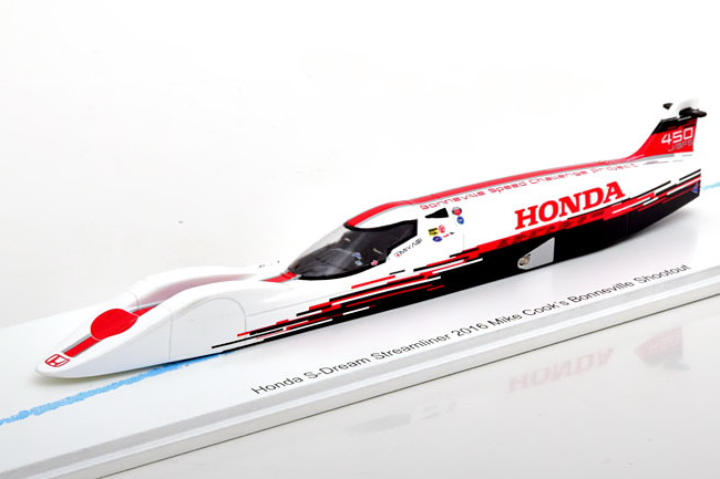Bizarre 1/43 ホンダ S-ドリーム ストリームライナー 2016 Honda Dream Streamliner