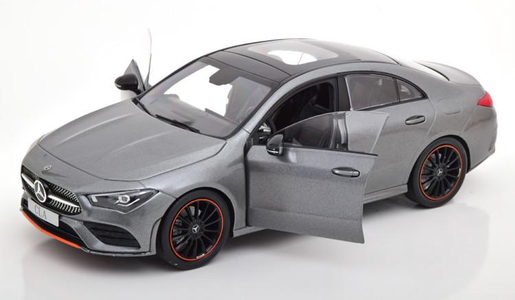 Z Models 1 18 メルセデス・ベンツ CLAクラス C118 クーペ 2019 グレーメタリック メルセデス特別版 M7gmyYvbfI6