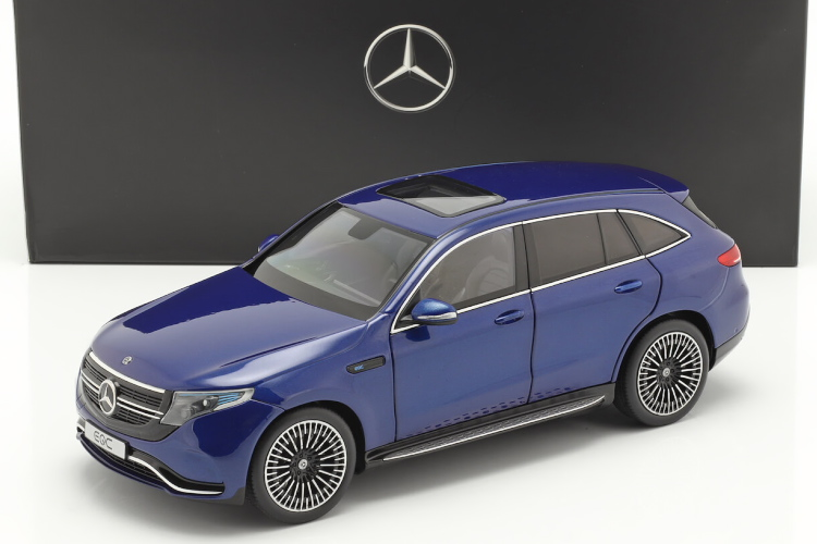 NZG 1/18 メルセデス・ベンツ EQC 4Matic (N293) year 2019 ブリリアントブルー Mercedes-Benz brilliant blue