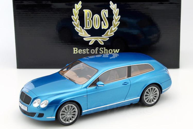 スター BoS STAR FLYING ベントレー GTC 2010 1/18 コンチネンタル ブルー 2010 フライイング ベントレー TOURING