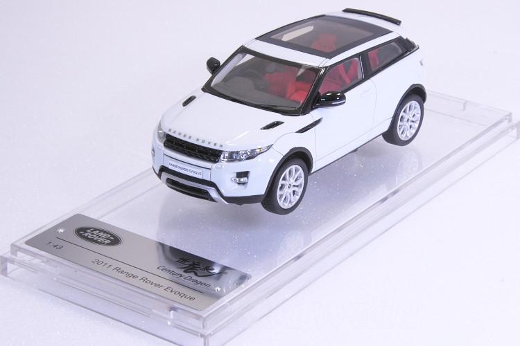 センチュリードラゴン 1/43 レンジローバー イヴォーク 2011 ホワイトCentury Dragon Range Rover Evoque 2011