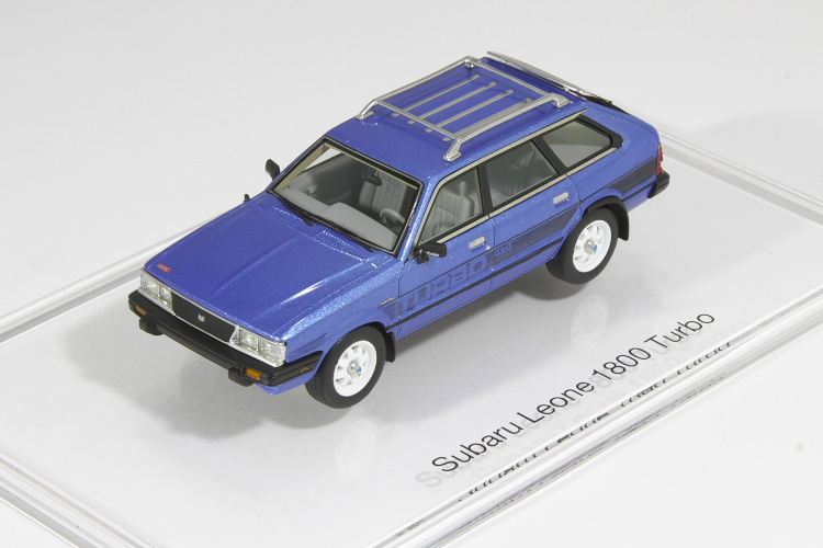 DNA Collectibles 1/43 スバル レオーネ 1800 ターボ 1983 SUBARU Leone 1800 Turbo 370台限定