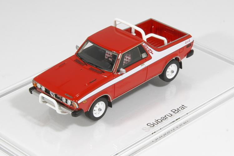 DNA Collectibles 1/43 スバル ブラット 1983 SUBARU Brat 320台限定
