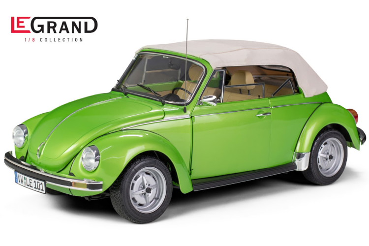LeGrand 1/8 フォルクス・ワーゲン ケーファー 1303 コンバーチブル グリーンメタリック 500台限定 VW Käfer Convertible greenmetallic