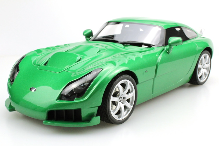 LS-COLLECTIBLES 1/18 TVR サガリス Sagaris 2005 グリーン