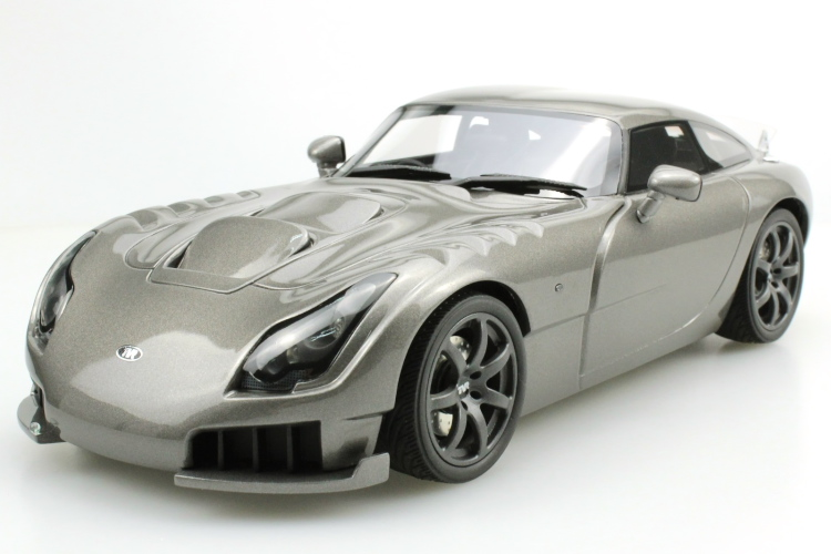 LS-COLLECTIBLES 1/18 TVR サガリス Sagaris 2005 グレー