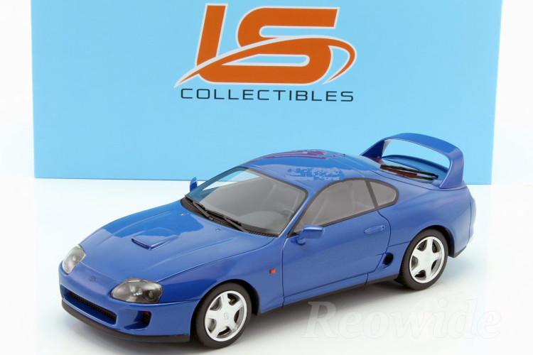 LS-COLLECTIBLES 1/18 トヨタ スープラ 1994 ブルー 左ハンドル JZA80