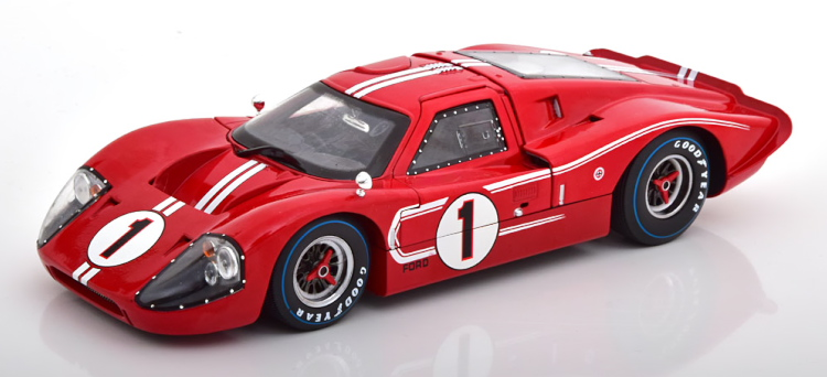 SHELBY COLLECTIBLES 1/18 フォード GT40 MK IV ル・マン 1967 優勝車 Ford Winner 24 Le Mans Gurney/Foyt