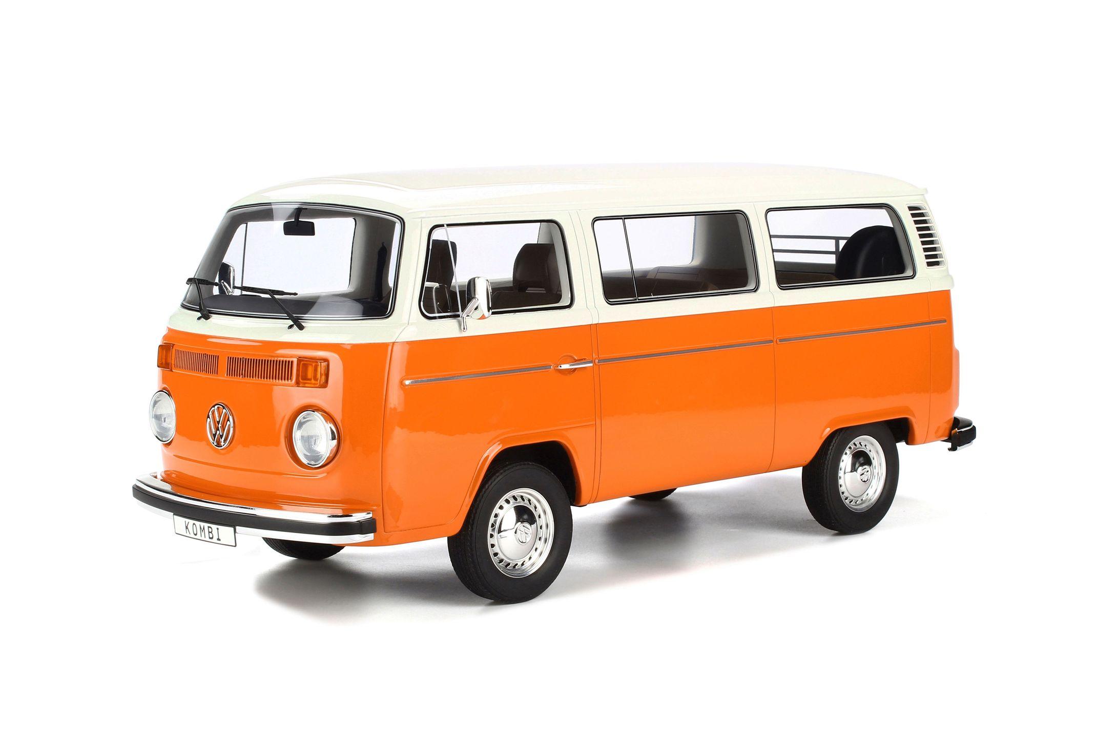 オットー OTTO 1/12 フォルクスワーゲン コンビ T2 バス 1978 オレンジ ホワイト Volkswagen VW Kombi T2 Bus year 1978 orange / white