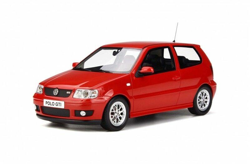 オットー OTTO 1/18 フォルクスワーゲン ポロ GTi 2001 レッド Volkswagen VW Polo GTi year red