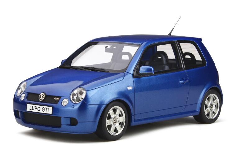 オットー Ottomobile 1 18 セール商品 VW フォルクスワーゲン 実物 ルポ ブルー GTi 2000 Volkswagen Lupo
