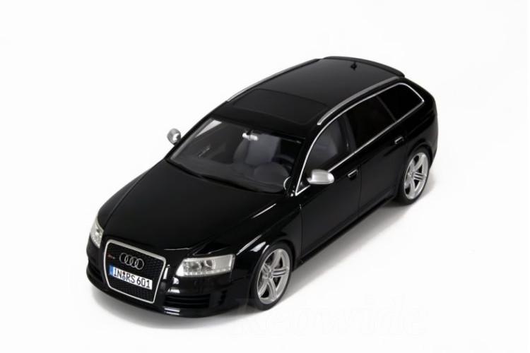 オットー OTTO 1/18 アウディ RS6 Avant plus 2008 ブラック