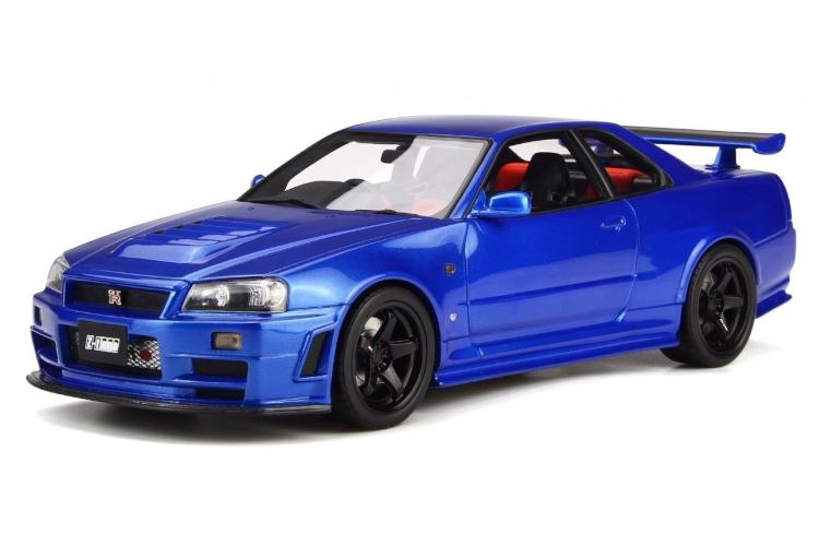 オットー OTTO 1/18 ニスモ Z-tune 日産 スカイライン GT-R R34 Nismo GT-R R34 NISMO