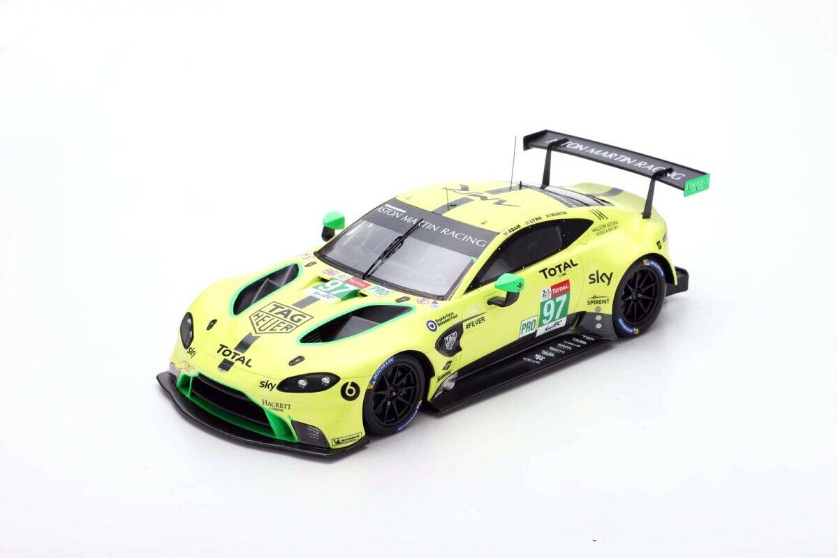 スパーク 1/18 アストンマーティン ヴァンテージAMR GTEPro 37° ルマン 2018 Aston Martin Vantage AMR GTEPro 37° Le Mans 2018 Lynn/Martin/Adam