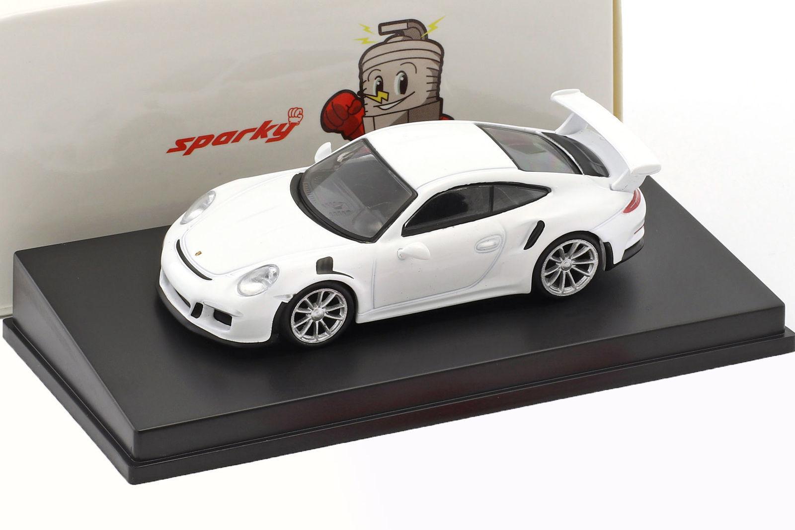 スパーク 1/64 ポルシェ 911 (991) GT3 RS 2016 ホワイト