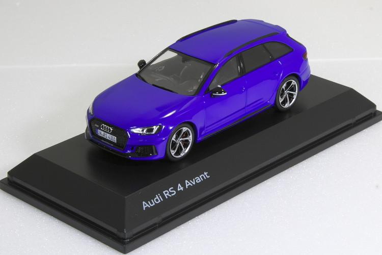 スパーク 1/43 アウディ RS4 Avant Nogaro Blue 2017 B9