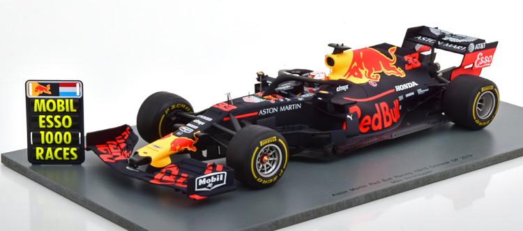 スパーク 1/18 レッドブルレーシング RB15 中国GP 2019 フェルスタッペン #33 Red Bull Racing China Verstappen