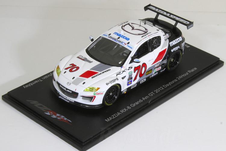 スパーク 1/43 マツダ RX-8 グランダムGT 2012 デイトナ24時間出場車 #70 (Grand Am GT SpeedSource #70 RX-8) 300台限定