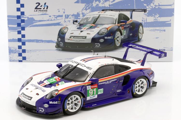 スパーク 特注 1/18 ポルシェ 911 (991) RSR #91 2018 ル・マン 24時間 Porsche 911 RSR Rothmans Tribute #91 24h LeMans 2018 Porsche GT Team LM 2nd LMGTE Pro 24h