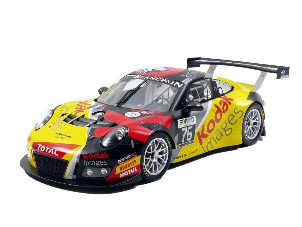スパーク 1/18 ポルシェ 991 GT3 R #76 Kodak / IMSA Performance 10th 24h Spa 2016 Porsche 991 GT3 R n° 76 Kodak / IMSA Performance 10th 24h Spa 2016 Drivers Patrick Pilet / Maxime Jousse / Raymond Narac / Thierry Cornac