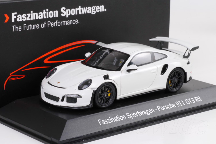 miami blue Spark 1:43 Porsche 991 GT3 Touring