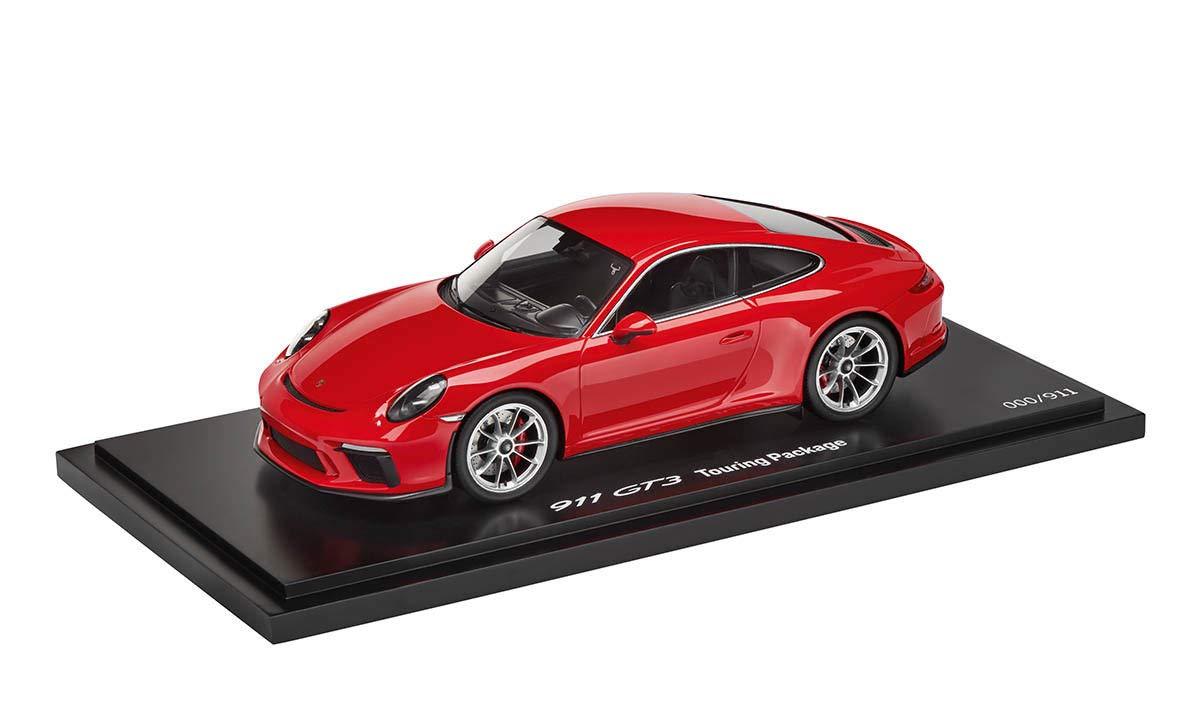 スパーク 1/18 ポルシェ 911 GT3 type 991 Touring Package 2017 Indian red Porsche