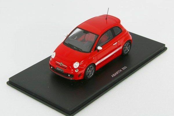 スパーク 1/43 フィアット アバルト 500 レッド Spark Fiat Abarth 500 red 2009