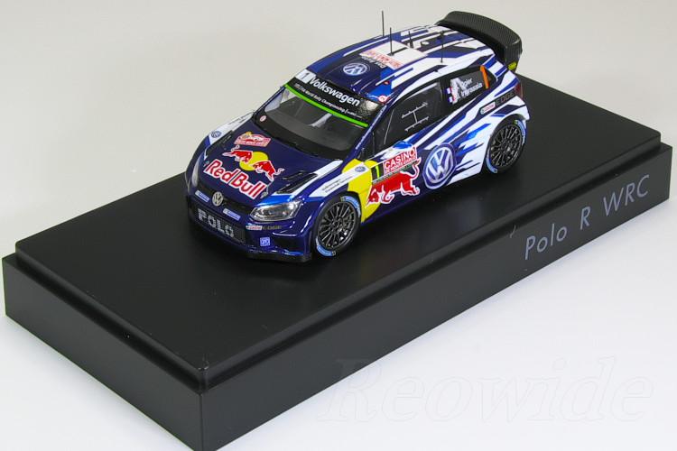 スパーク 1/43 VW特注 ポロ R WRC #1 2015 Sebastien Ogier / Julien Ingrassia