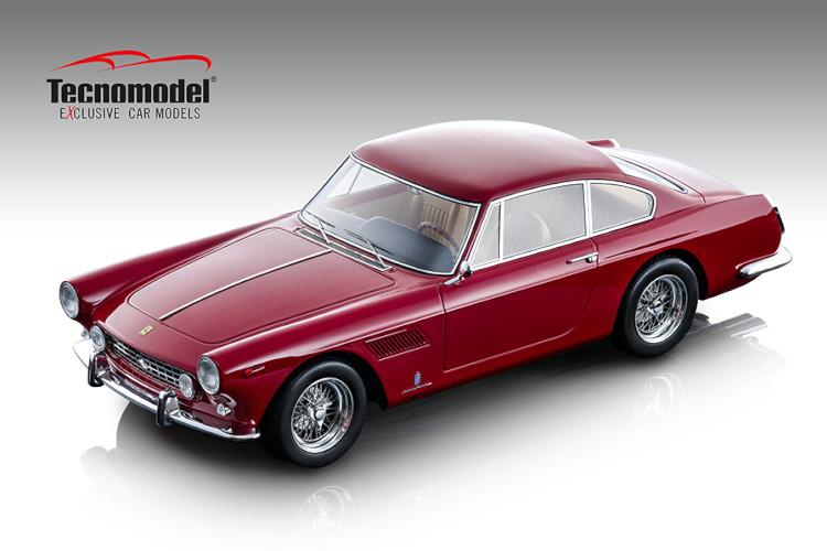 テクノモデル 1/18 フェラーリ 250 GTE 2+2 ロッソコルサ 1962 Ferrari Rosso corsa 2020年1月発売 予約受付中