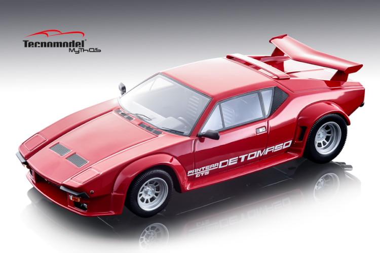 テクノモデル 1/18 デ・トマソ パンテーラ GT5 ロッソコルサ 1982 DeTomaso Pantera GT5 Rosso corsa