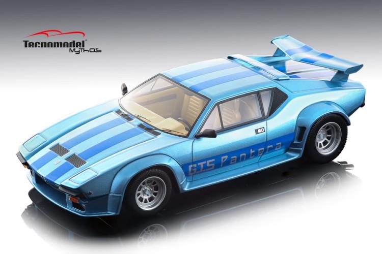 テクノモデル 1/18 デ・トマソ パンテーラ GT5 ライトメタルブルー 1982 DeTomaso Pantera GT5 Light Metal Blue