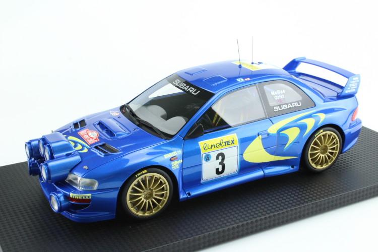 トップマルケス 1/18 スバル インプレッサ S4 MC ラリー #3 Top Marques Impreza S4 WRC MC Rally 1998 WRX STI GC8 22B WRC