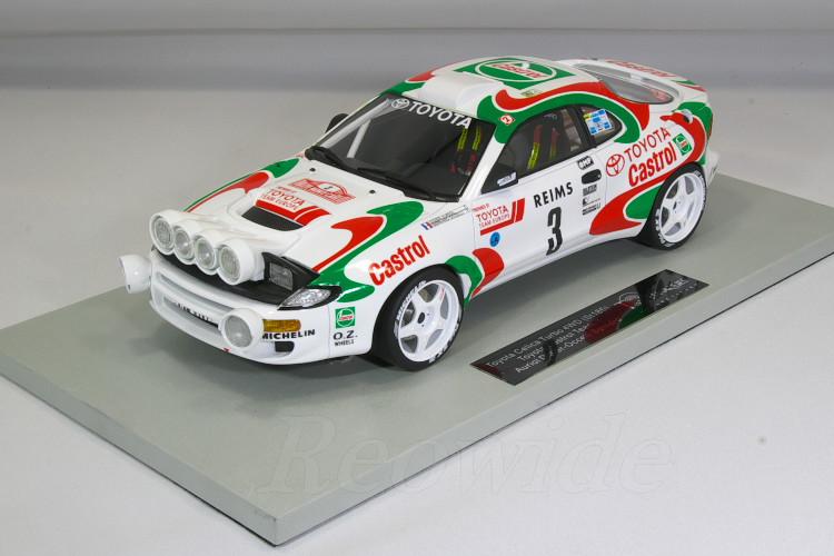 Top Marques 1/18 トヨタ セリカ MC 優勝 1993 WRC ST185