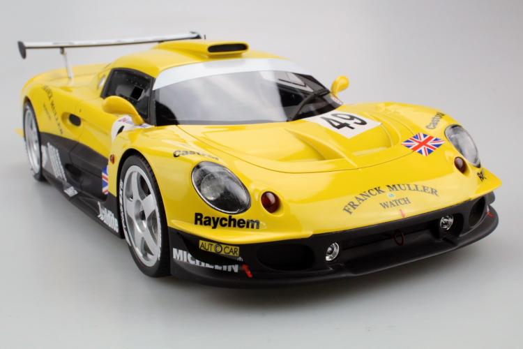 TOPMARQUES 1 18 ロータス エリーゼ GT1 イエロー オーバーのアイテム取扱☆ グリーン 予約受付中 高額売筋 Elise Yellow Lotus Green 2020年2月発売 Racing