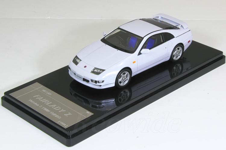 WIT'S 1/43 日産 フェアレディ Z Vesion S ツインターボ カスマイズモデル ホワイト 1998 Z32 300ZX