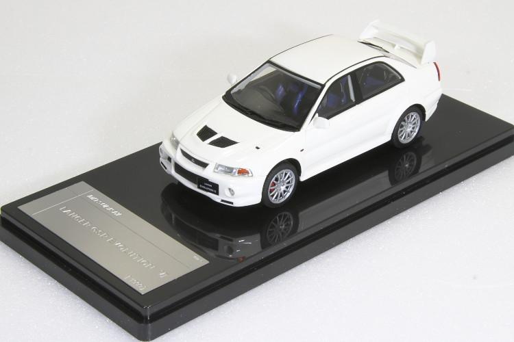 WIT'S 1/43 三菱 ランサーエボリューション 6 GSR 1999 ホワイト