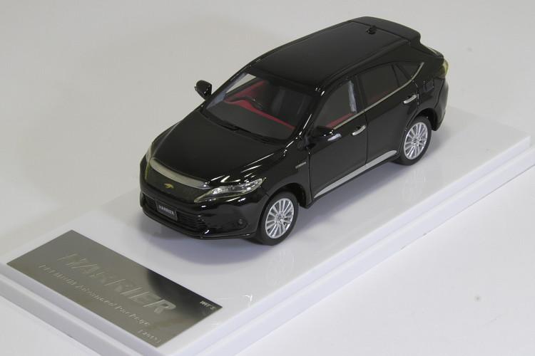 <中古品>WIT'S 1/43 ハリアー プレミアム アドバンス パッケージ ブラック 2013 TOYOTA HARRIER Premium Advanced Packege