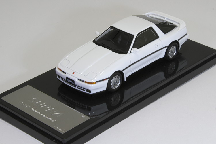 WIT'S 1/43 トヨタ スープラ 3.0GT トヨタ スープラ 3.0GT ターボ リ ミテッド 1989 Supra Turbo Limited Super White A70