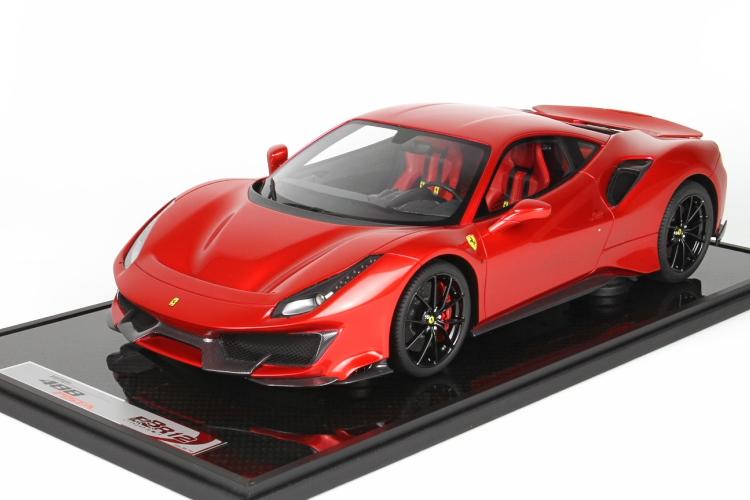 BBR MODEL 1/12 フェラーリ 488 ピスタ F1 2007B レッド 10台限定 Ferrari Pista