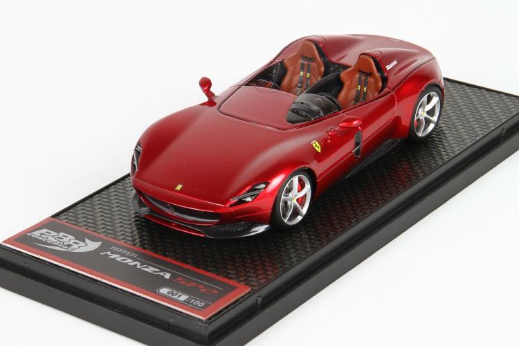 BBR 1/18 フェラーリ モンツァ SP2 レッドポルトフィーノ 120台限定 Ferrari Monza Red Portofino