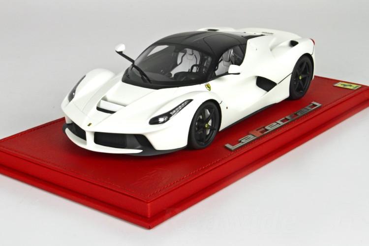 BBR 1/18 フェラーリ ラフェラーリ マットホワイト / マットブラックルーフ 20台限定 ラ・フェラーリ
